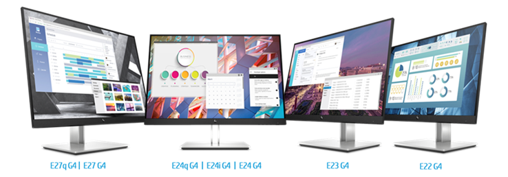 hp elite displays