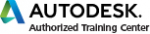 authorized training center logo color text black medium